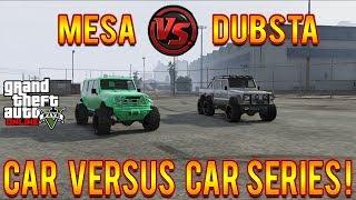 GTA 5 Modded Mesa VS 6X6 Dubsta! Fastest Car In GTA 5! GTA