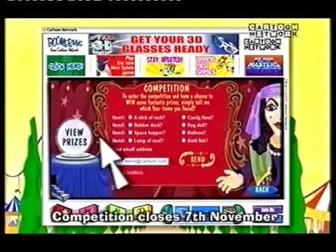 Ad breaks cartoon network september 2003 uk youtube