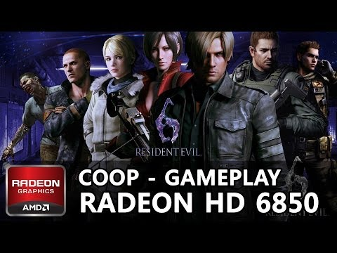 Resident Evil 6 PC Gameplay (Coop) | Campagne Chris/Final Boss | on Radeon HD 6850 (HD)