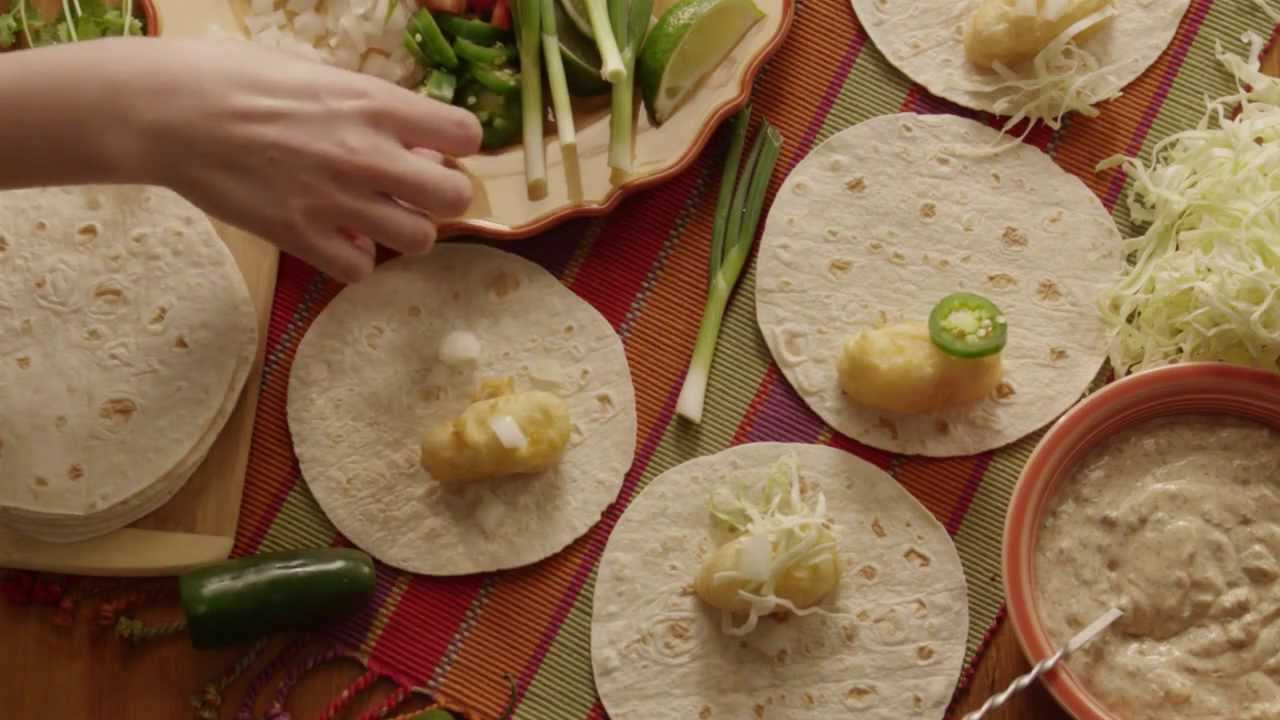 How to make fish tacos fish tacos recipe youtube for How to prepare fish tacos