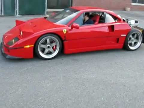 1990 ferrari f40 full rebuild youtube aaron ross and sanya richardsRichard Rawlings F40