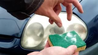 Comment nettoyer des phares ternes pour presque zéro euro