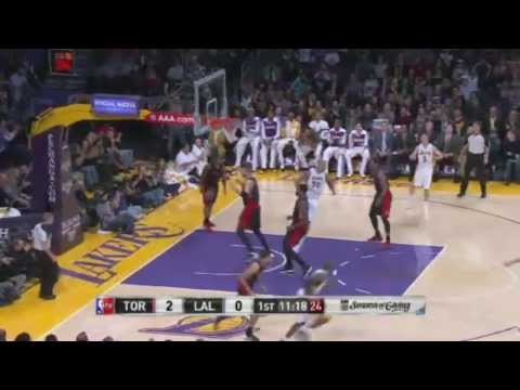 FULL HIGHLIGHTS [HD] - Toronto Raptors vs LA Lakers | December 8, 2013 | NBA 2013-14 Season