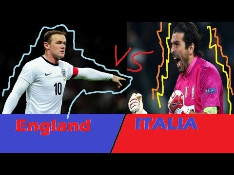 England vs Italy 2014 World Cup Special Edition