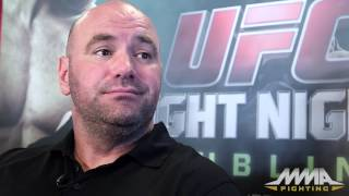 Dana White UFC Fight Night 46 Pre-Fight Scrum