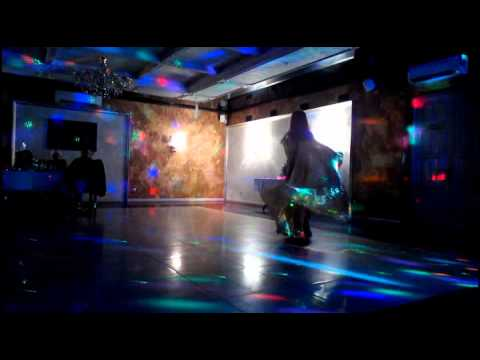 Anna Yudina Oriental dance with wings 2014