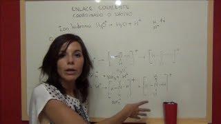 Enlace covalente, regla del octeto y estructuras de Lewis.