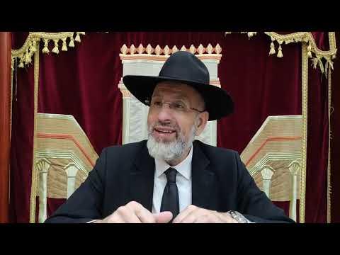 Pourquoi 2 consolations apres le 9 Av pour un message ? Léïlouy nichmat de Rav Haim Yaacov Sultan ben Rezala zal