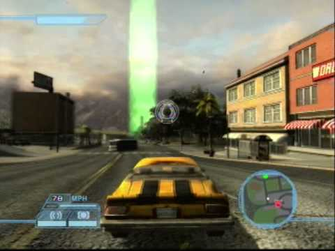 Transformers The Game PS3 - Autobot Mission 3 ''Protect and Serve'', Continuing on with a HUGE boost in quality. This mission is really fun, take down Barricade and get to all the locations before him. When you are fighting Ba...