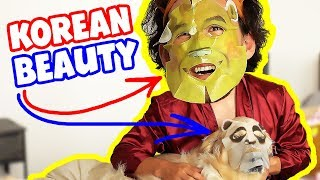 Markiplier Tries KOREAN BEAUTY PRODUCTS