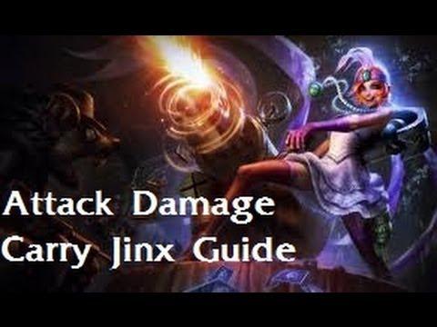 League of Legends - Jinx ADC - Serious Mode Guide (Zirene)
