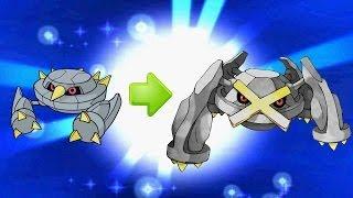 Shiny Metang Evolving Into Metagross! Pokémon X And Y