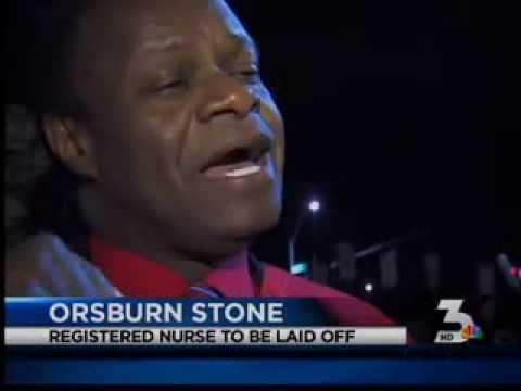 Nurses protest after layoff reports at Saint Rose Dominican   Las Vegas MyNews3   KSNV