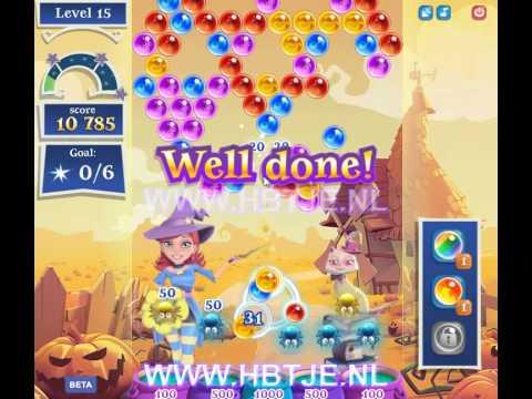 Bubble Witch Saga 2 level 15