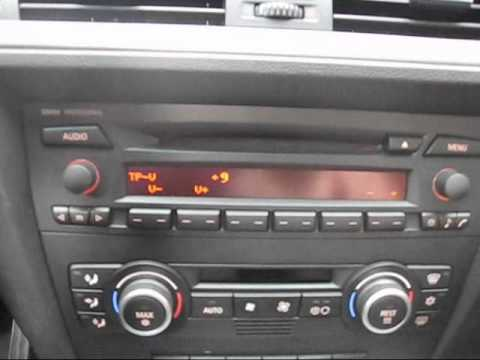bmw professional radio quick review youtube. Black Bedroom Furniture Sets. Home Design Ideas