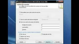 Instalar SQL Server 2005