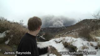 Covering Kirishima Volcano's Eruption For CNN In Japan