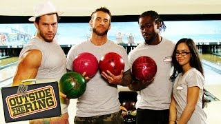 CM Punk Bowls With Talking Dead's Chris Hardwick & Team