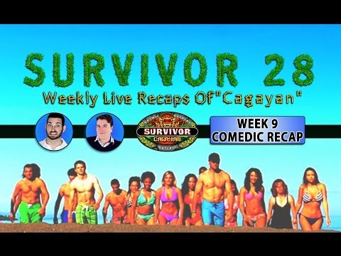 Survivor 28 Cagayan: Week 9 Comedic Video Recap!