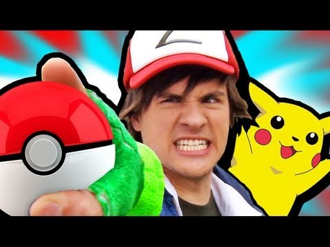 POKEMON IN REAL LIFE!, BLOOPERS & MORE: http://bit.ly/PokemonEXTRAS WATCH EN ESPAÑOL: http://youtu.be/dKCGWaRAzSc WATCH PART 4: http://youtu.be/wzy9D_YKxso WATCH PART 2: http://you...