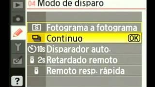 Como configurar una cámara digital Reflex