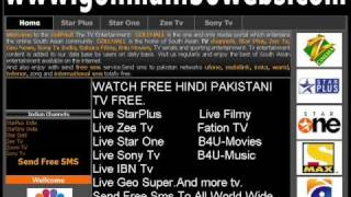 Watch Star Plus Live Zee Tv Live Filmy Live Cricket,