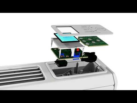 Dimplex QRAD050 Q-RAD Quantum Electric Radiator 0.5KW