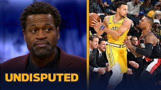 Warriors need KD in the WCF vs. Lillard, McCollum & the Blazers — Stephen Jackson | NBA | UNDISPUTED