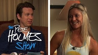Meets Olympic Snowboarder Hannah Teter: Pete Holmes