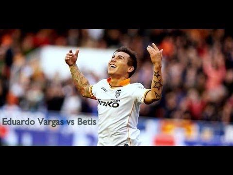 Eduardo Vargas vs Betis (H) | by Rule14 | 13/14 ᴴᴰ