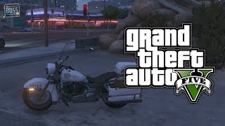 GTA 5 Online: How To Get & Store The Police Motorcycle