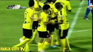 اهداف مباراة فنجاء في مرمى النصر ضمن الجولة 17 من دوري عمانتل للمحترفين للموسم 2013-2014