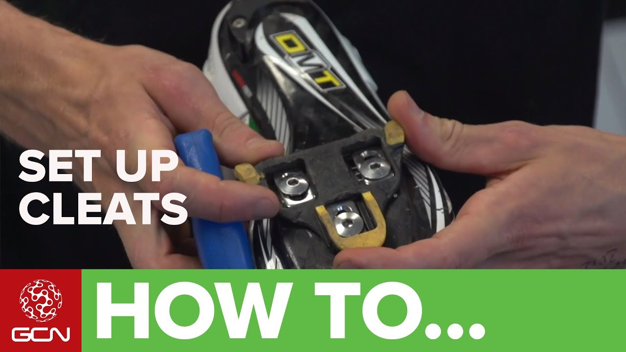 How To Set Up Cleats For Clipless Pedals