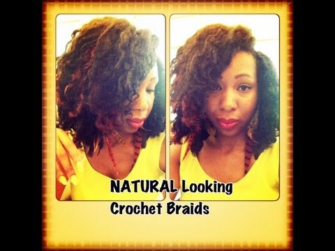 Quick Crochet Hair : QUICK and EASY Natural Looking Crochet Braids - YouTube