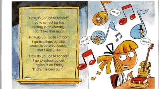 How do you go to school? Song for children