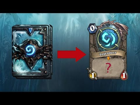 Hearthstone: Knights of the Frozen Throne - Legendary in a Pack