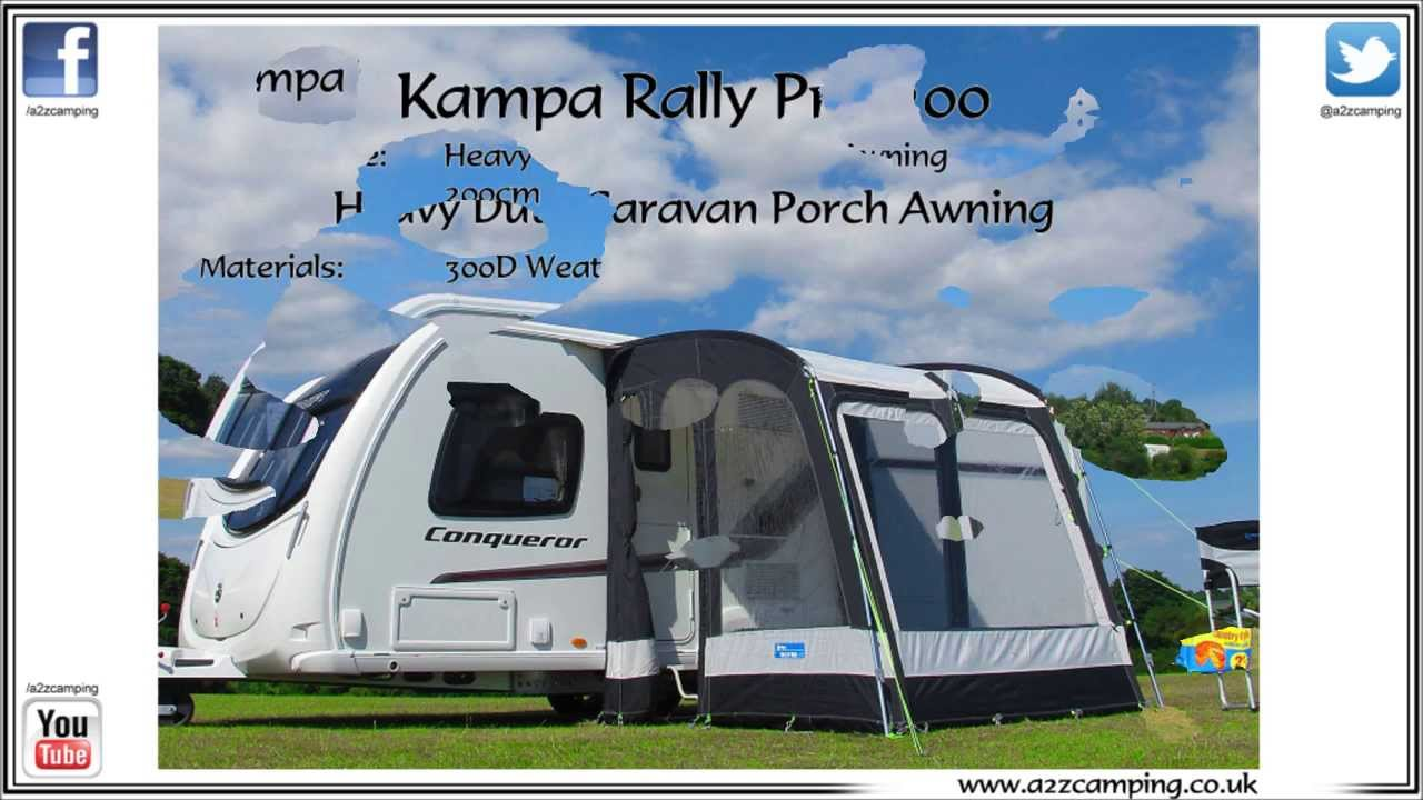 Kampa Rally 200 Pro Caravan Porch Awning From Www