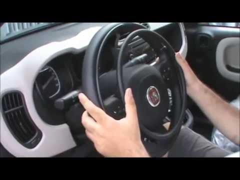 Acceleratore a cerchiello KS e Leva freno lungo braccio su Fiat Panda