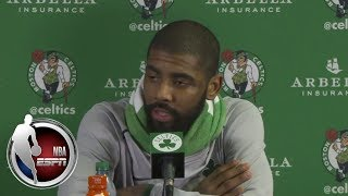 [FULL] Kyrie Irving and Brad Stevens react to Celtics loss to Cavaliers   ESPN