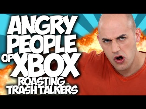 COD GHOSTS: ROASTING TRASH TALKERS!! ANGRY PEOPLE OF XBOX #15
