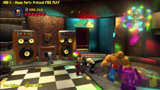 Lego Marvel Super Heroes: HUB 3 House Party Protocol