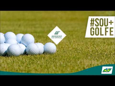 Melhores momentos do 88º Campeonato Amador de Golfe do Brasil