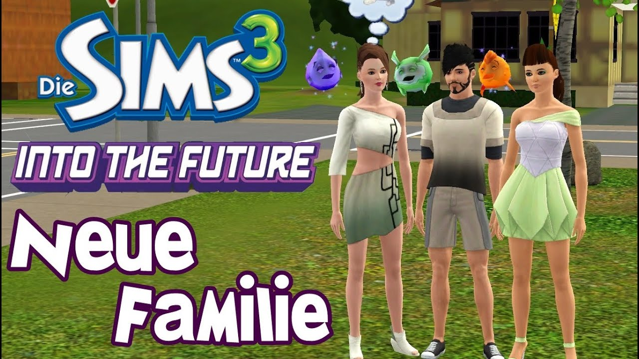 die sims 3 into the future die neuen let 39 s play wg. Black Bedroom Furniture Sets. Home Design Ideas