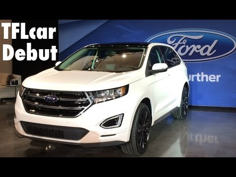 Watch the all new 2015 Ford Edge Debut in TFL 4K