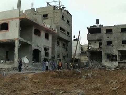 One Israeli air strike kills 18 in Gaza Strip