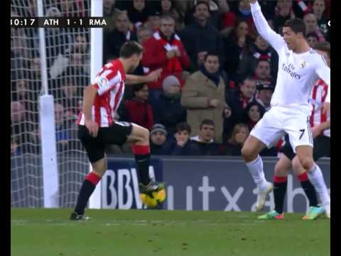 Athletic Bilbao 1-1 Real Madrid | Cristiano Ronaldo red card
