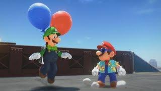 Super Mario Odyssey DLC Update - Luigi's Balloon World, New Costumes and Snapshot Mode