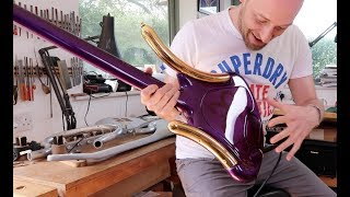 The CRAZIEST bass you've ever seen... and it was Prince's!