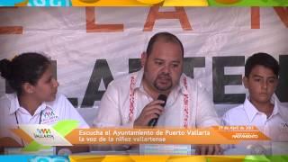 Escucha el Ayuntamiento de Puerto Vallarta la voz de la niñez vallartense