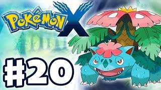 Pokemon X And Y Gameplay Walkthrough Part 20 Ivysaur